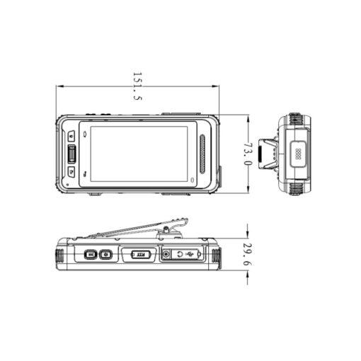 Bodycam Dahua MPT-310