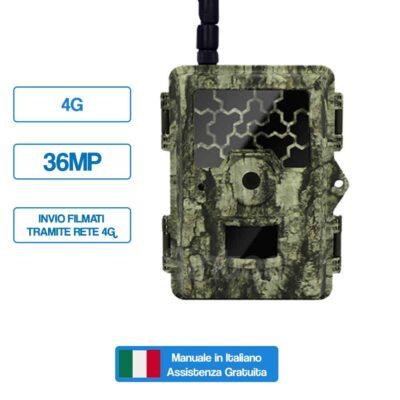 Fototrappola Professionale 36MP - 4G SNT-145M