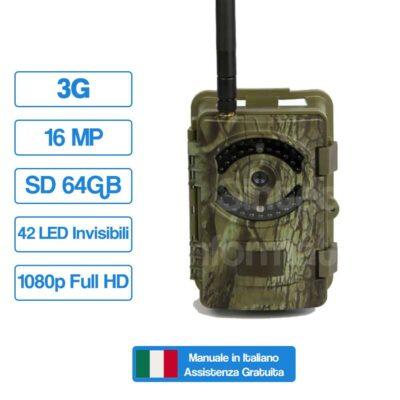 Fototrappola Professionale 16MP–3G SNT-120M