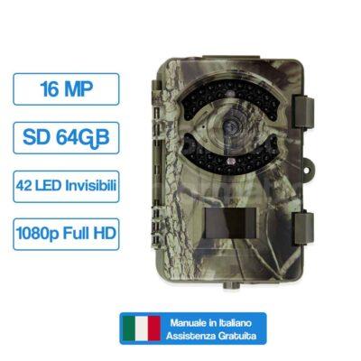 SNT-120 Fototrappola Professionale 16MP